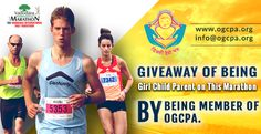 Giveaway of being girl child parent on this marathon by being member of OGCPA. VISIT: www.ogcpa.org