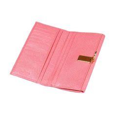 Salmon Pink Textured  Marlene Purse