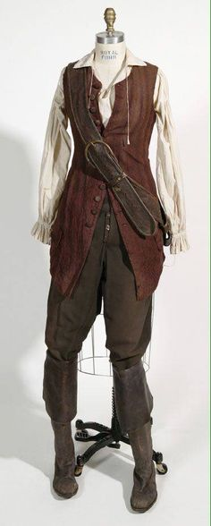 Elizabeth Swann Vest (Pirates of the Caribbean) $75.99 + $8 shipping cannot be washed  (prices are less when making it for children)  Message me for further details like size and anything else!