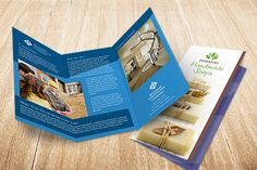 Design a Tri-fold Brochure for Variable Data Printing