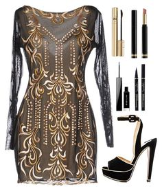 """Untitled #700"" by amchavesj-1 ❤ liked on Polyvore featuring Christian Louboutin, Givenchy, Dolce&Gabbana and Gucci"