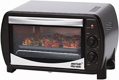 Prepare delicious new menus at the convenience of your home. Bake soft breads and delicious cakes, toast oil-free pappads and rotis, grill vegetables and meats to perfection. AMERICAN MICRONIC Oven Toaster Griller (OTG) can be used to cook or heat food items quickly and efficiently. It has a capacity of 14 litres and powerful heater of 1200 watts. The 0-60 minutes timer function automatically stops heating once the operation is complete. It features a convection function that allows you to…
