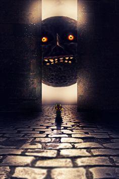 Majora's Mask Manip, by FlyingGinger.deviantart.com | #TLoZ #Majora #Skullkid