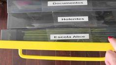 Organização da papelada e documentos | Organize sem Frescuras! - http://www.decoracaodecoracao.com/organizacao-da-papelada-e-documentos-organize-sem-frescuras #decoração - #arquitetura - #paisagismo