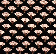 Fan kimono pattern by Michael Miller