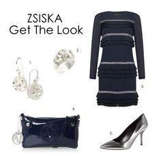 Date Night outfit! 1&2: ZSISKA Brilliant 3.Dress: SuperTrash 4.Bag: Armani 5.Pumps: Hugo Boss