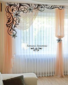 Mejores 144 Imagenes De Cortinas 2 En Pinterest En 2018 Window - Cortinas-y-decoraciones