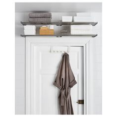 Bathroom Wall Storage Ikea Small Spaces 46 Ideas For 2019 Bathroom Towel Storage, Bathroom Wall Shelves, Small Bathroom Organization, Bathroom Towels, Bedroom Storage, Bathroom Ideas, Storage Closets, Bathroom Closet, Storage For Small Bathroom