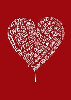 Love—According to Scripture [1 Cor. 13 4–8]