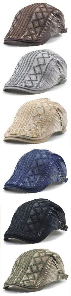 d468304fdd3 ... Beret Caps Newsboy Buckle Adjustable Casual Outdoors Peaked Hat