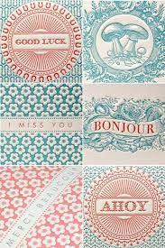 letterpress poster - Google Search
