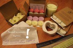Merci PartyLite pour mes cadeaux de bougies et accessoires ! Photo Cécile Cloarec