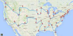 This is The Perfect U.S. Road Trip According to Scientists - The Bold Italic - San Francisco