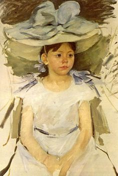 """Daughter of Alexander Cassatt"" by Mary Cassatt"