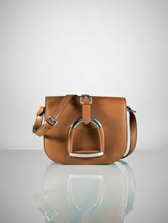Calfskin Stirrup Handbag - Ralph Lauren Ralph Lauren Handbags - RalphLauren.com