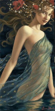 HEDONE - the goddess of pleasure, enjoyment and delight; as a daughter of Eros (love) and Psyche (soul); associated more specifically with sensual pleasure; her opposite number were the Algea (Pains)