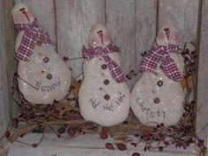 christmas holidays ornies primitive