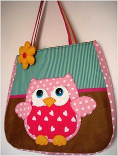 owl bags and toys