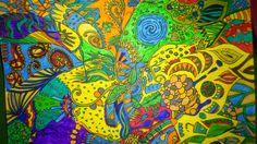 abundzuKUNST: Doodle, Zentangle, Kritzelzeichnung... altes neu entdeckt!