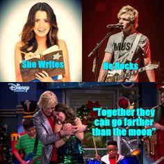 #photojoiner Cute Relationship Goals, Cute Relationships, Austin E Ally, Leo Howard, Anna Love, Rachel Berry, Disney Channel Stars, Laura Marano, Disney Couples