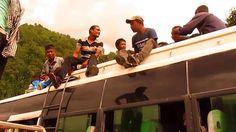 Top of the bus! Trek in Nepal around Annapurna episode 16