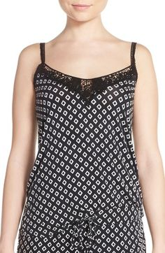 PJ Salvage Print Stretch Modal Camisole available at #Nordstrom