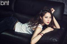 Park Ji Yoon - bnt International March 2014