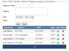 How to Bind,Insert,Edit,Update,Delete in GridView in asp.net VB.Net http://www.webcodeexpert.com/2013/07/how-to-bindinserteditupdatedelete-in.html