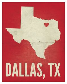 Although, I think Dallas is quite a bit farther South, and a little West of that. #TexasNerd