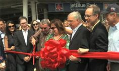 The JetBlue Park ribbon cutting ceremony