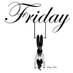 Hang in there, it's Friday! Megan Hess Illustration