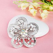 Plum Blossom Flower Brooch – USD $ 2.99