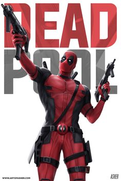 From the studio that inexplicably sewed his mouth shut the first time comes...Deadpool - Asher Alpay