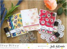 Watercolor cards with Say it Flowers stampset and Fairy Dust Glitter Indian Crafts, Flower Quotes, Fairy Dust, Watercolor Cards, Cool Cards, Clear Stamps, Hello Everyone, Craft Stores, Cardmaking