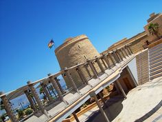 Anfiteatro - Castillo de Santa Ana #RoquetasdeMar #TourismSpain #Spain #Andalucia #Almeria #VisitRoquetas #Turismo #Tourism #Vacation #Holidays #Vacaciones