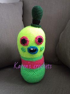 Mr Dinkles Stuffie pattern by Karen's Crochets
