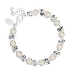 Alan Hannah Devoted Designer pearl and crystal bubble stud earring- at Debenhams.com