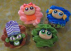 Power Puff Girls cupcakes