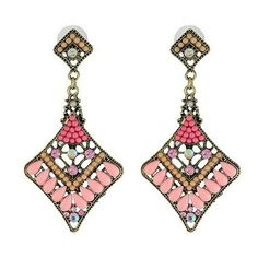 2013 New-arrived Fashion Retro Bohemian Resin Pendant Earrings[US$10.00]