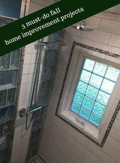 Are you bathroom windows rotten and deteriorated? Love this idea of a high privacy casement style acrylic block window to make a more energy efficient home. Get 5 must do Fall home improvement ideas by clicking through here Bathroom Wall Decor, Bathroom Layout, Bathroom Interior Design, Small Bathroom, Bathroom Windows, Bathroom Ideas, Bathroom Remodeling, Remodeling Ideas, Glass Block Windows