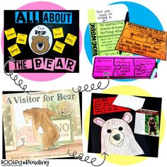 A Visitor for Bear:  Anchor charts, activities, making inferences