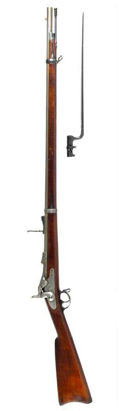 The Springfield Trapdoor (coversion) rifle