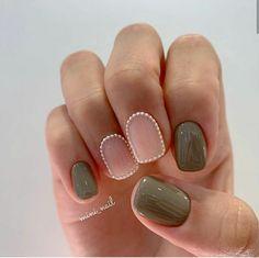 Cute Acrylic Nails, Cute Nails, Nail Atelier, Eyebrows On Fleek, Trendy Nail Art, Pretty Hands, Short Nails, Nail Inspo, Nails Inspiration