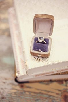 Cute idea to have ring cushion (Is that the name for it?) the same color as the wedding colors.