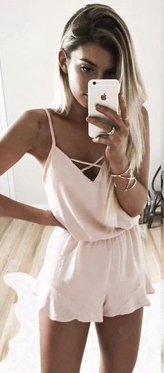 Cute romper. | Get ready for Spring and Summer with our stylish outfit ideas.