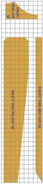 Cape Cod chair arm grid plans
