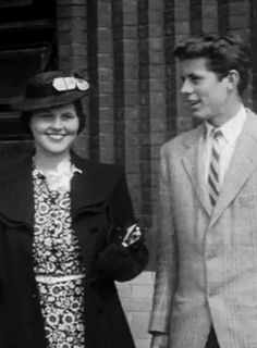 JFK and sister Rosemary