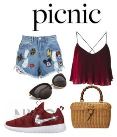 """Summer day Outfit"" by priyanka-pc on Polyvore featuring Disney Stars Studios and Gucci"