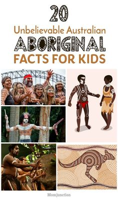 Aborigines are indigenous people living in Australia with different art and culture. To know more, read here the interesting aboriginal facts for kids. Aboriginal Facts, Aboriginal Art For Kids, Aboriginal Education, Indigenous Education, Aboriginal History, Aboriginal Culture, Aboriginal People, Aboriginal Tattoo, Aboriginal Dreamtime