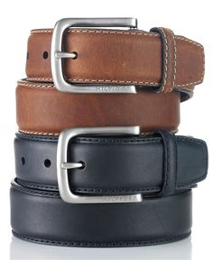 Tommy Hilfiger Belt, Leather Casual Belt - Mens Belts, Wallets & Accessories - Macy's ( size 34 )